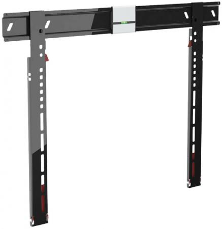 Кронштейн Holder LEDS-7021 черный для ЖК ТВ 42-90 настенный от стены 8мм VESA 600x400 до 40 кг тумба holder albero tv 37140 н черная