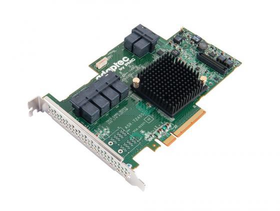 Контроллер SAS/SATA Adaptec ASR-72405 PCI-E v3 x8 SGL 2274900-R контроллер sas intel sas sata rms25jb040 924453 rms25jb040924453