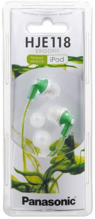 Наушники Panasonic RP-HJE118GUG зеленый наушники panasonic rp hje118gug зеленый