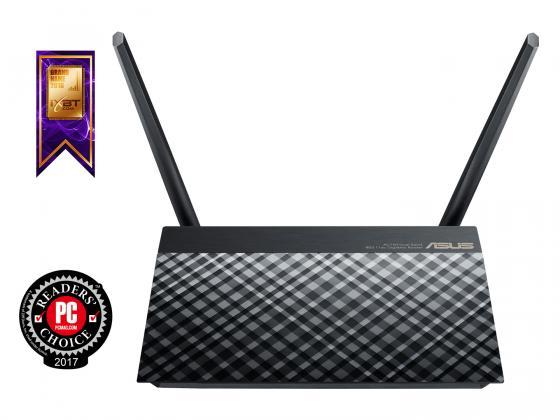 Беспроводной маршрутизатор ASUS RT-AC52U B1 802.11aс 733Mbps 5 ГГц 2.4 ГГц 4xLAN USB 2.0 черный маршрутизатор asus rt n56u 802 11n 300mbps 5 ггц 4xlan usb usb черный