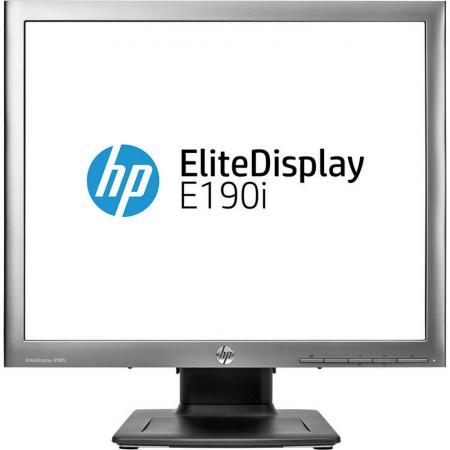 Монитор 19 HP EliteDisplay E190i черный IPS 1280x1024 250 cd/m^2 8 ms DisplayPort VGA USB DVI E4U30AA монитор 23 nec multisync e233wmi черный ips 1920x1080 250 cd m^2 6 ms dvi d vga displayport