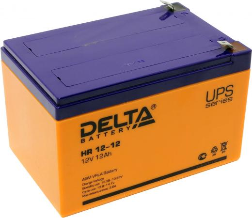 Батарея Delta HR12-12 12A/hs 12V delta bub0812hd hm00 bj91 dc 12v 0 53a server blower fan