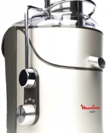 Соковыжималка Moulinex JU655H30 1200 Вт серебристый