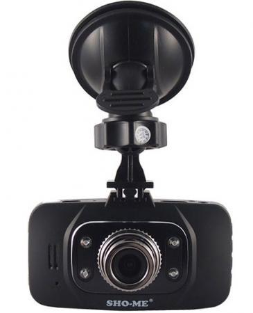 Видеорегистратор Sho-Me HD-8000SX 2.7 1920x1080 1.3Mp 140° G-сенсор HDMI microSD microSDHC