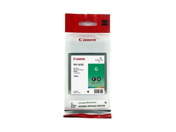 Картридж Canon PFI-101 G для iPF5100 зеленый canon pfi 102c