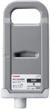 Картридж Canon PFI-701 MBK для iPF5100 iPF8000 8000S 8100 9000 9000S черный матовый viltrox fc 21c wireless ttl high speed synchronous flash trigger for canon dslr 1 8000s max