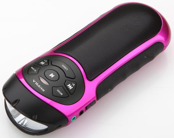Магнитола Supra PAS-6277 розово-черный стоимость