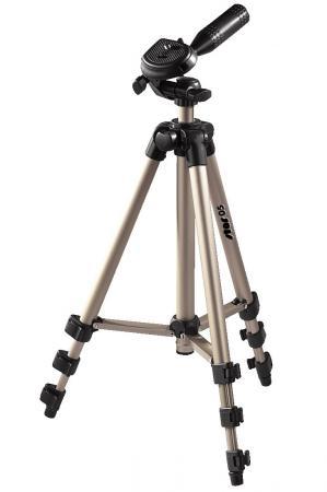 Штатив Hama Star-5 106-3D H-4105 напольный трипод 3D-головка до 106.5см штатив hama star 05 silver h 4105