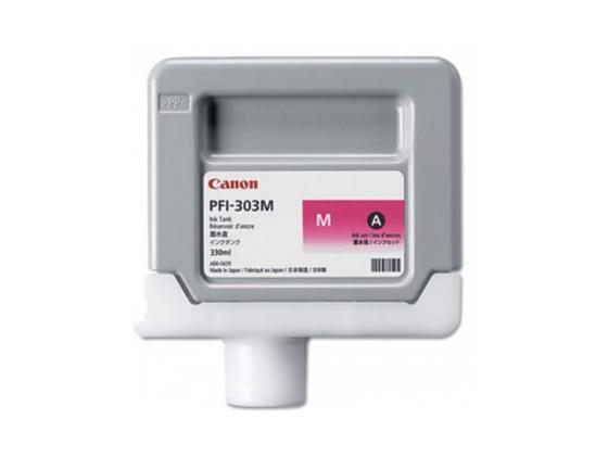 Картридж Canon PFI-303 M для iPF815 825 пурпурный