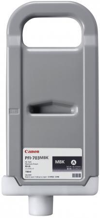 Фото - Картридж Canon PFI-703 MBK для iPF815 825 черный матовый картридж canon pfi 206 mbk для ipf6400 6450 черный матовый
