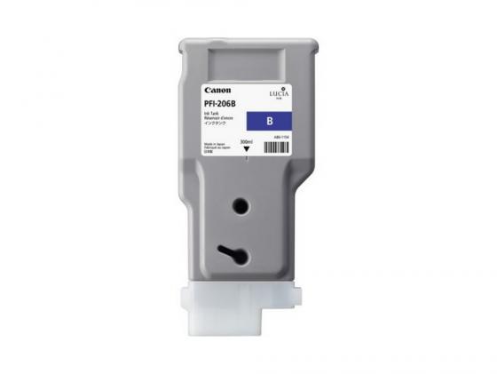 Картридж Canon PFI-206 B для iPF6400 6450 синий for canon pfi 107 disposable cartridge chip for canon ipf680 ipf685 ipf770 ipf780 ipf785 printer