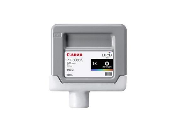 Картридж Canon PFI-306 BK для iPF8300S 8400 9400S 9400 черный картридж canon pfi 306 pm для ipf8300s 8400 9400s 9400 фото пурпурный