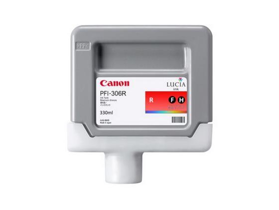 Картридж Canon PFI-306 R для iPF8400 9400 красный canon pfi 306 black