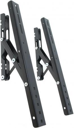 Кронштейн Holder PTS-4011 черный-серебристый для ЖК ТВ 37-65 настенный от стены 28мм наклон -15° до 60 кг рюкзак thule stir 20l dark forest 3203552