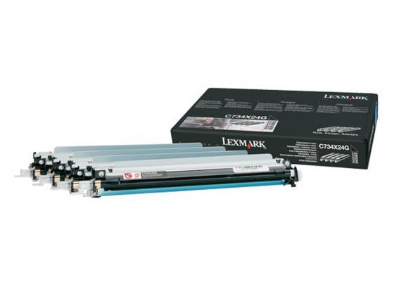 Фотобарабан Lexmark C734X24G для C73x/X73x цветной картридж lexmark c736h1mg для c73x x73x пурпурный 10000стр