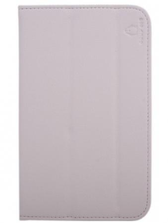 Чехол Good Egg для Samsung Galaxy Tab3 7.0 T2100/2110 Flex кожа белый GE-GT2100FLEXWHT обложка good egg универсальная 10 goodegg lira кожа красный ge uni 10 lir 2210