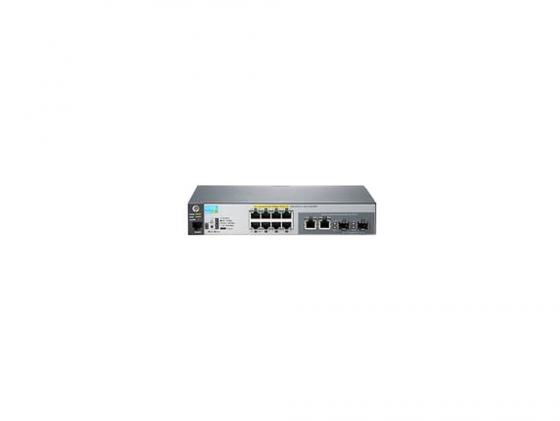 Коммутатор HP 2530-8G управляемый 8 портов 10/100/1000Mbps 2xSFP J9777A hp 2530 8