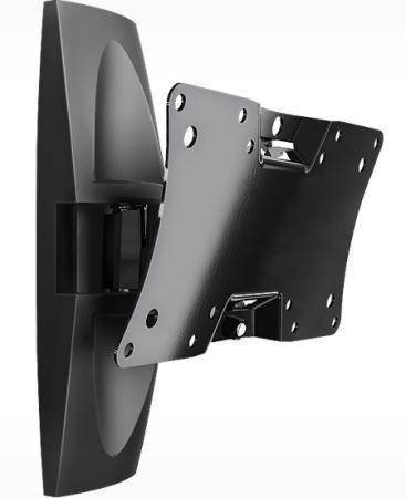 "цена на Кронштейн Holder LCDS-5062 черный для ЖК ТВ 19-32"" настенный от стены 105мм наклон +15°/-25° поворот 50° до 30кг"