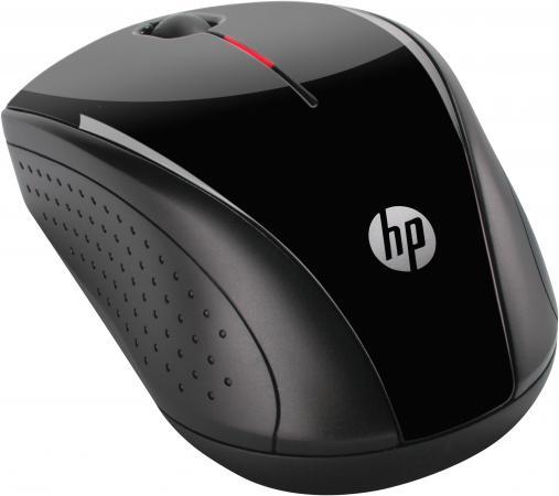 Мышь беспроводная HP X3000 чёрный USB