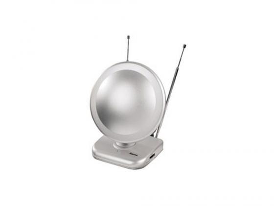 Антенна HAMA H-44283 серебристый комнатная антенна hama h 44283