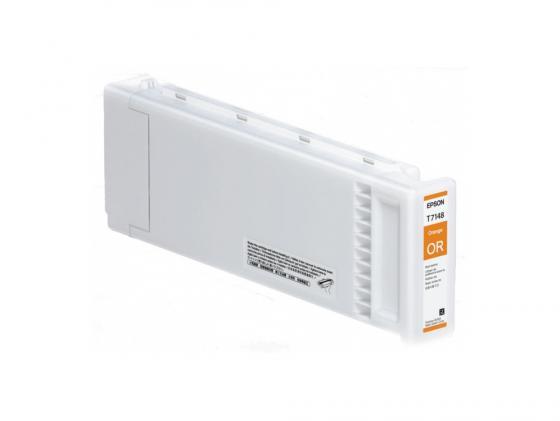 Картридж Epson C13T714800 T714800 для Epson SC-S70610 UltraChrome GSX оранжевый