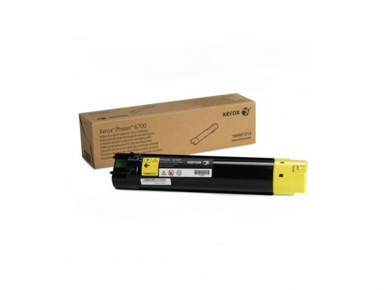 Тонер-Картридж Xerox 106R01513 для Phaser 6700 желтый 5000стр картридж xerox 108r00794 для phaser 3635mfp 5000стр