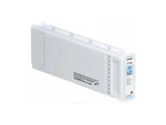 Картридж Epson C13T714500 T714500 для Epson SC-S70610 UltraChrome GSX светло-голубой robot digital servo 17kg 270 degree ld 3015mg high torque metal gear for manipulator mechanical arm robotic
