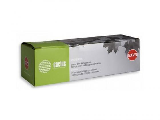цена на Картридж Cactus CS-EXV3 для Canon IR 2200 2800 черный 15000стр