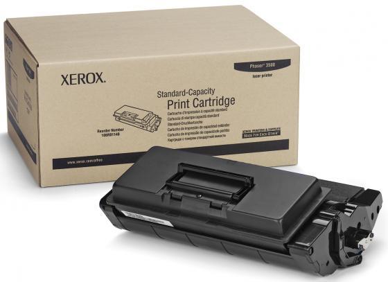 Тонер-Картридж Xerox 106R01148 для Phaser 3500 черный 6000стр картридж xerox 108r00909 для phaser 3140 2500стр