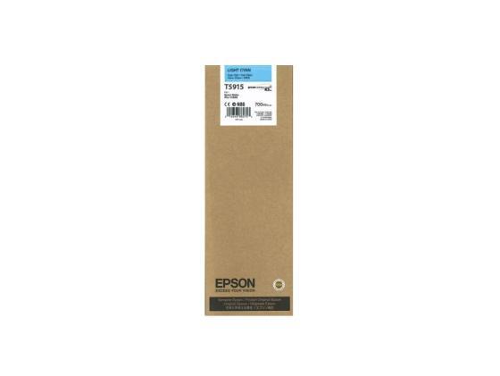 Картридж Epson C13T591500 T5915 для Epson Stylus Pro 11880 голубой картридж epson c13t580b00 для epson stylus pro 3880 vivid light magenta