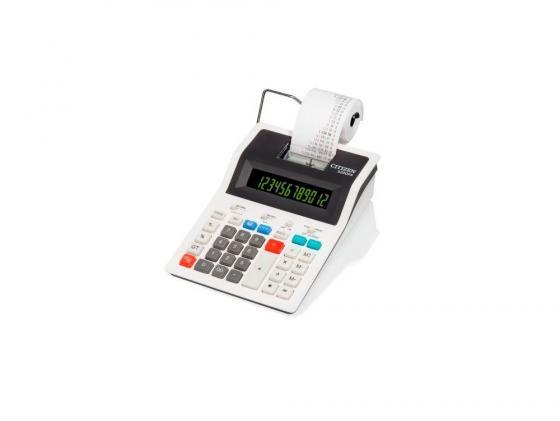 Калькулятор Citizen 520DPA питание от сети 12 разрядов печатающий термопечать 10стр/с белый dpa st2011c