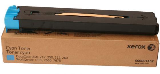 Тонер-Картридж Xerox 006R01452 для DC 240/250/242/252 WC7655/7665 голубой 34000стр цена 2016