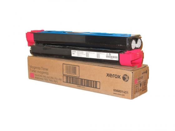 Тонер-Картридж Xerox 006R01451 для DC 240/250/242/252 WC7655/7665 пурпурный 34000стр цена 2016