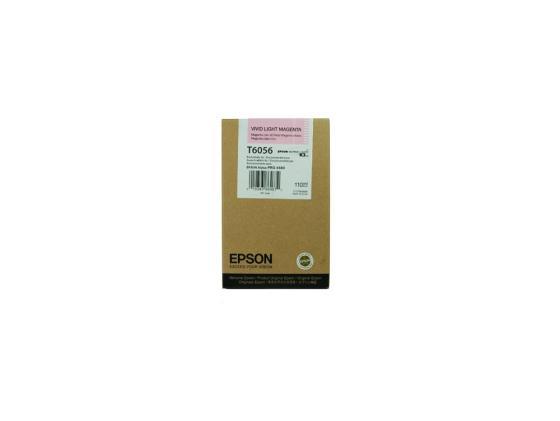 Картридж Epson C13T605600 для Epson Stylus Pro 4880 светло-пурпурный epson t7014 xl c13t70144010 yellow картридж для workforce pro wp 4000 5000 series