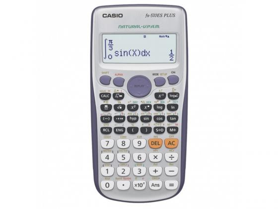 Калькулятор Casio FX-570ESPLUS Матричный, 2-строчный калькулятор casio fx 82sx plus