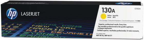 купить Тонер HP CF352A CF352A CF352A для HP Color LaserJet Pro MFP M176n Color LaserJet Pro MFP M177fw 1000 Желтый по цене 4020 рублей