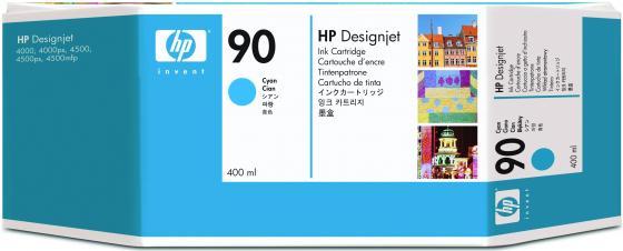 Картридж HP C5083A № 90 для HP DJ 4000 голубой 3шт картридж hp pigment ink cartridge 70 black z2100 3100 3200 c9449a