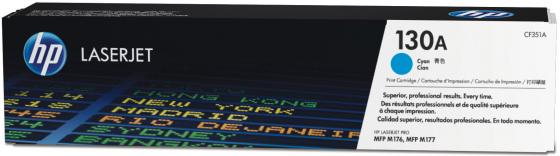 Фото - Тонер HP CF351A CF351A CF351A для HP Color LaserJet Pro MFP M176n Color LaserJet Pro MFP M177fw 1000 Голубой картридж sakura ce410a для hp laserjet pro 400 color m451dn m451dw 451nw mfp m475dw m475dn laserjet 300 color mfp m375n черный 2200 к