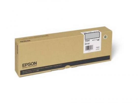 Картридж Epson C13T591900 для Epson Stylus Pro 11880 серый epson t7014 xl c13t70144010 yellow картридж для workforce pro wp 4000 5000 series