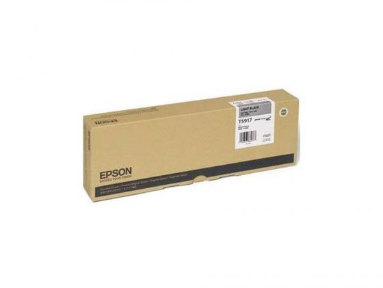Картридж Epson C13T591700 для Epson Stylus Pro 11880 серый картридж epson c13t580b00 для epson stylus pro 3880 vivid light magenta