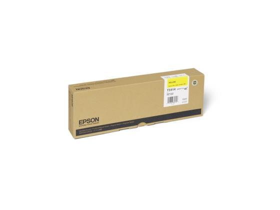 Картридж Epson C13T591400 для Epson Stylus Pro 11880 желтый original cc03main mainboard main board for epson l455 l550 l551 l555 l558 wf 2520 wf 2530 printer formatter