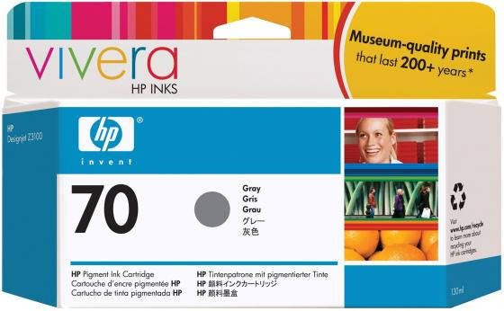 Картридж HP C9450A №70 для HP DJ Z2100 Z3100 серый картридж hp pigment ink cartridge 70 gray z3100 c9450a