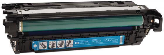 Фото - Картридж HP CF031A для CM4540 голубой 12500стр картридж hp cf031a для hp cm4540 голубой