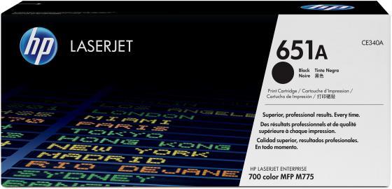 Картридж HP CE340A 651A для LJ 700 Color MFP 775 черный 13500стр hp ce252a yellow для lj cp3525cm3530 7000стр