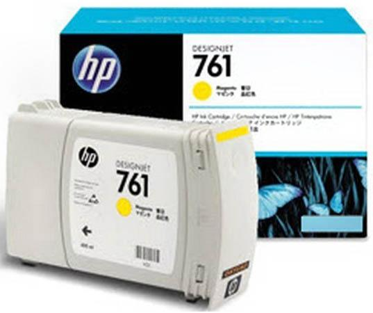 Картридж HP CM992A №761 для HP Designjet T7100 желтый free shipping q5669 60664 for hp designjet t610 t1100 z2100 z3100 z3200 vacuum fan aerosol fan assembly original used