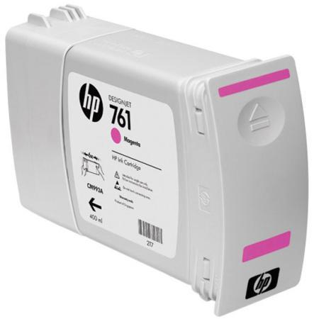 Картридж HP CM993A №761 для HP Designjet T7100 пурпурный струйный картридж hp cm993a 761 пурпурный для hp designjet t7100