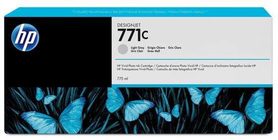 Картридж HP B6Y14A №711С для HP Designjet Z6200 светло-серый картридж hp pigment ink cartridge 70 black z2100 3100 3200 c9449a