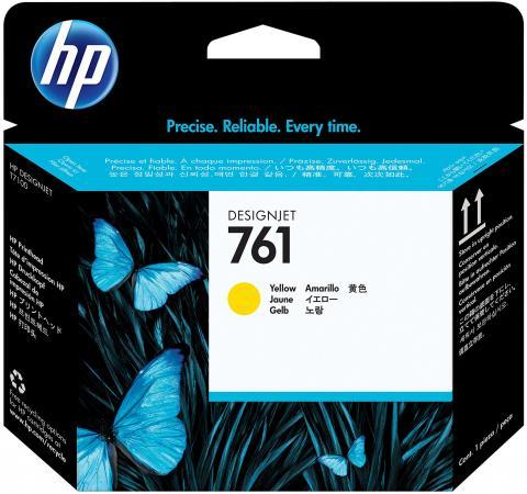 Печатающая головка HP CH645A №761 для HP Designjet T7100 желтый печатающая головка hp 761 ch648a черный матовый для hp designjet t7100