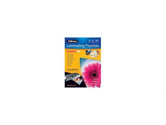 Пленка для ламинирования Fellowes FS-54018 А4 250мкм 100шт глянцевая цены онлайн