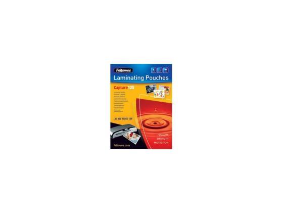 Пленка для ламинирования Fellowes FS-53072 A6 125мкм 100шт 111х154 глянцевая цены онлайн